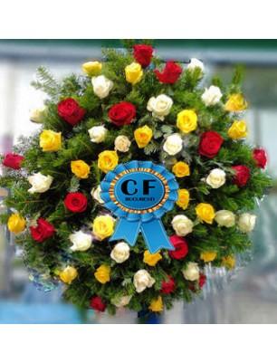 Coroana rotunda Trandafiri