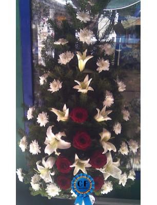 Jerba funerara Crin, Trandafir si Crizantema